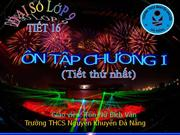 Tiet 16 Dai so 9 ON TAP CHUONG I