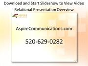 RelationalPresentationOverviewVideo