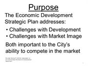 Strategic Planning Purpose