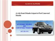 Orlando Airport to Port Canaveral Shuttle
