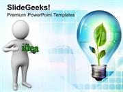 GREEN ENERGY SHARE THE IDEA OF GO GREEN PPT TEMPLATE