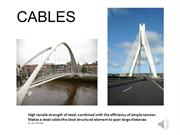 TheTensile Structure -  Cable