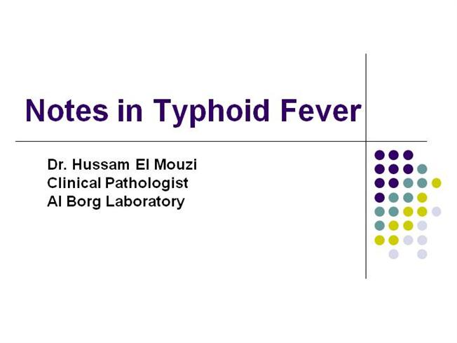 Epidemiological analysis of typhoid fever in Kelantan from a retrieved registry