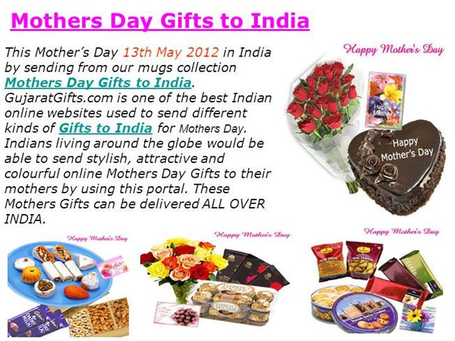 Mothers Day Gifts to India |authorSTREAM
