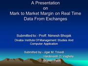 A Presentation on m2m margin
