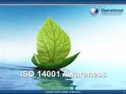 ISO14001 Awareness by Allan Ung, Operational Excellence Consulting