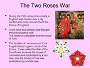 Two Roses War