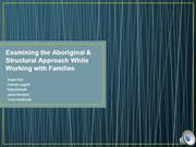 Virtual Agency Structural and Aboriginal