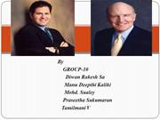 Michael Dell and Jack Welch