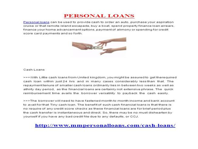 Personal Loan |authorSTREAM