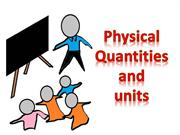 vivek physical quantities