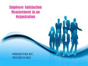 Employee satisfaction measurement
