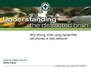 NSC Distracted Driving Slides