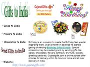 Special Gifts to India, Birthday Gifts to India from Gujaratgifts.com