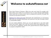 Now, Bad Credit Borrowers Can Avail No Money Down Auto Loans