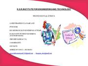 ENGLISH-PROFESSIONAL ETHICS