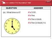 B03 - 7a Talking about time