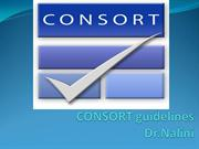 Consort guidelines