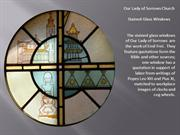 stained glass slideshow