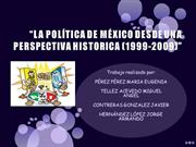 POLITICA EN MEXICO