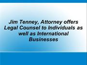 Jim Tenney Attorney