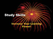 Study Skills-Northcross