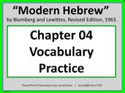 MH04-Practice Words
