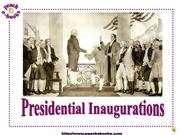 Presidential Inaugurations PEN 2942