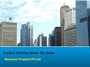 Antriksh Golf City!.., @9910940489 ? Antriksh Golf City Noida
