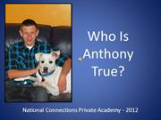 Anthony PowerPoint