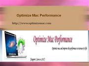 Remove Unwanted Files to Optimize Mac Performance