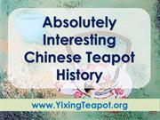 Absolutely Interesting Chinese Teapot History