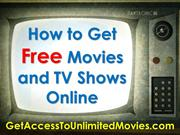 How to Get Free Movies and TV Shows Online
