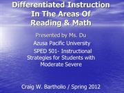 Differentiated Instruction PPT
