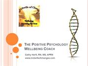 The Positive Psychology Wellbeing Coach