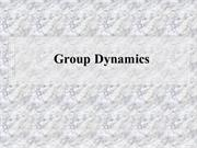 Group Dynamics ppts