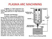 PLASMA ARC MACHINING