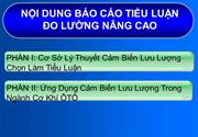 BO CO do luong nang cao  luu luong