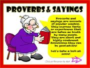 PROVERBS + SAYINGS VIDEO