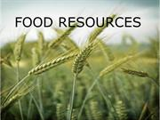 FOOD RESOURCES1