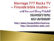 Marriage 777 Rocks TV-Holy Matrimony