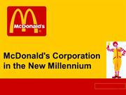 MBA-Marketing M-Mc Donald
