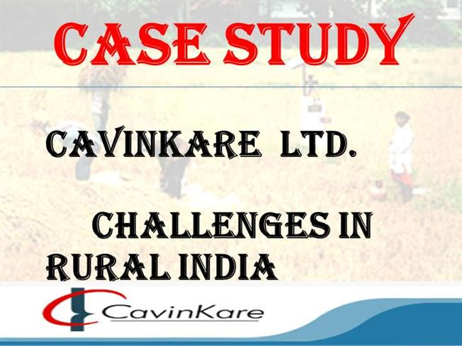 cavinkare case study analysis ppt