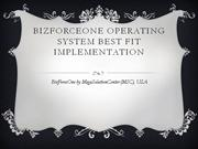 BFO Implementation Methodology
