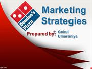 Marketing Strategy of Domino's Pizza