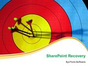 SharePoint Document Library Recovery