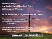 Bilingual Praise & Worship-12/28/08
