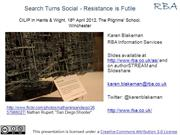 Search turns social - resistance is futile