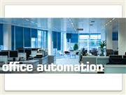 7. Office automation