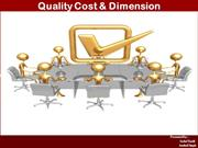 Quality Cost & Dimension FINAL1